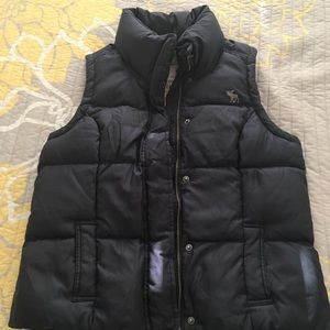 Down feather Abercrombie and fitch vest